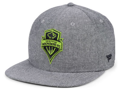 Seattle Sounders FC NHL Branded MLS Chambray Snapback Cap