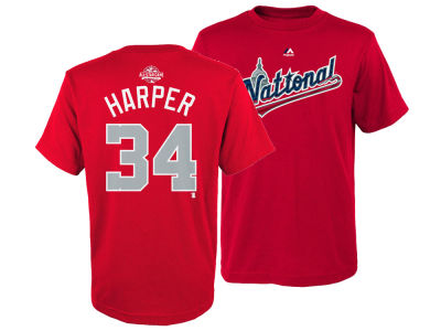 Bryce Harper Majestic 2018 MLB Youth All Star Game Player T-Shirt