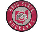 Ohio State Buckeyes 12inch Circle w/ State Sign Home Office & School Supplies