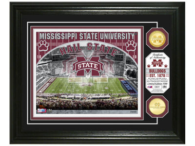 Mississippi State Bulldogs Highland Mint NCAA Bronze Coin Photo Mint