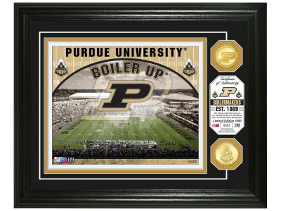 Purdue Boilermakers Highland Mint NCAA Bronze Coin Photo Mint