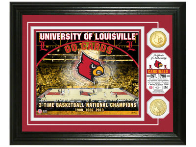 Louisville Cardinals Highland Mint NCAA Bronze Coin Photo Mint