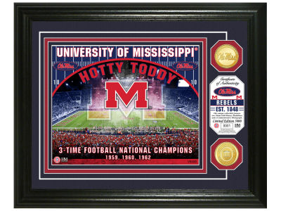 Ole Miss Rebels Highland Mint NCAA Bronze Coin Photo Mint
