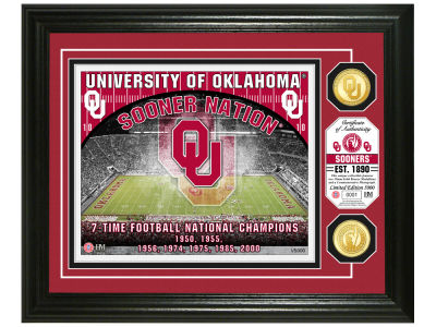 Oklahoma Sooners Highland Mint NCAA Bronze Coin Photo Mint