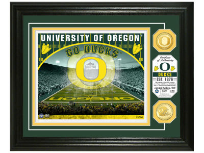 Oregon Ducks Highland Mint NCAA Bronze Coin Photo Mint