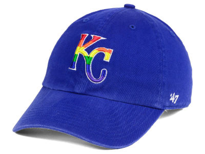 Kansas City Royals '47 MLB Pride CLEAN UP Cap