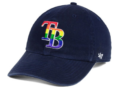 Tampa Bay Rays '47 MLB Pride CLEAN UP Cap