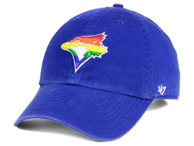 Toronto Blue Jays '47 MLB Pride CLEAN UP Cap