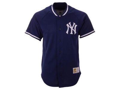 New York Yankees Mitchell & Ness MLB Men's Pro Mesh Jersey