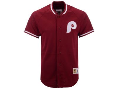 Philadelphia Phillies Mitchell & Ness MLB Men's Pro Mesh Jersey