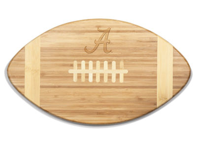 Alabama Crimson Tide Picnic Time NCAA Touchdown! Football Cutting Board & Serving Tray
