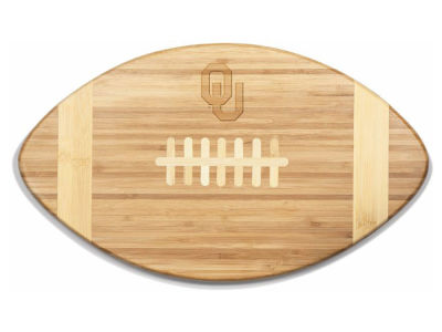 Oklahoma Sooners Picnic Time NCAA Touchdown! Football Cutting Board & Serving Tray