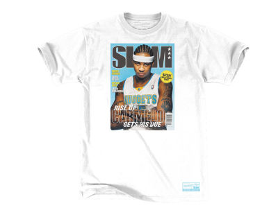 Denver Nuggets Carmelo Anthony Mitchell & Ness NBA Men's Slam Cover T-shirt