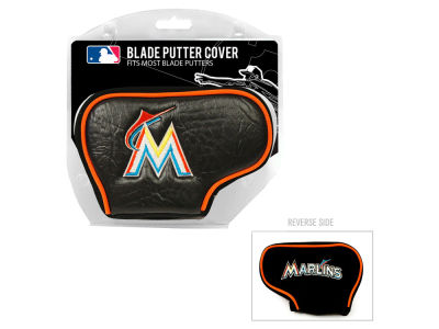 Miami Marlins Team Golf Golf Blade Putter Cover