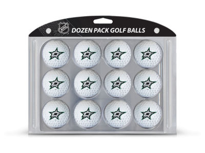 Dallas Stars Team Golf Golf Balls, 12 Pack