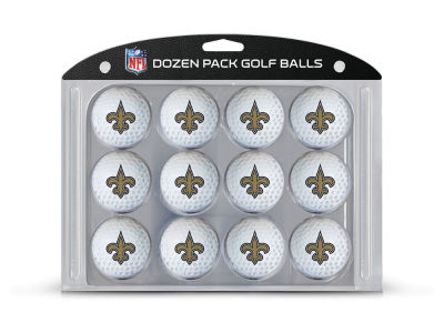 New Orleans Saints Team Golf Golf Balls, 12 Pack