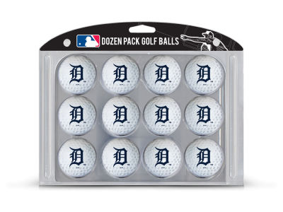 Detroit Tigers Team Golf Golf Balls, 12 Pack
