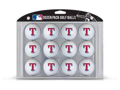 Texas Rangers Team Golf Golf Balls, 12 Pack