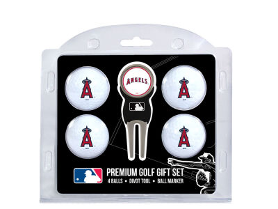 Los Angeles Angels Team Golf 4 Golf Ball And Divot Tool Set