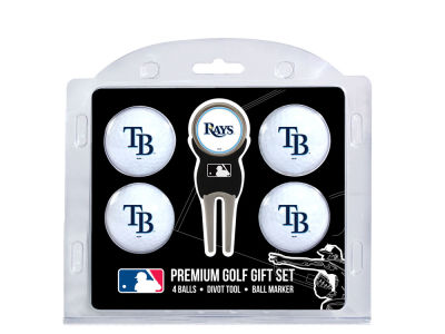 Tampa Bay Rays Team Golf 4 Golf Ball And Divot Tool Set