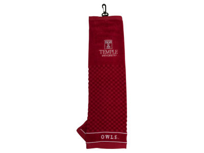 Temple Owls Team Golf Embroidered Golf Towel