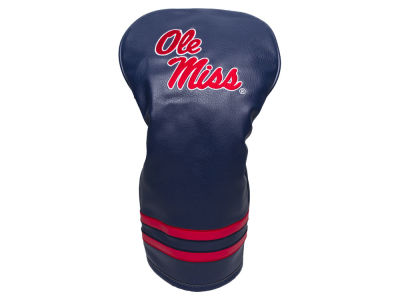 Ole Miss Rebels Team Golf Vintage Driver Head Cover