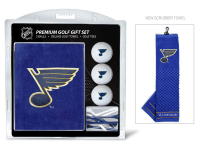 St. Louis Blues Team Golf Golf Towel, 3 Golf Ball, and Golf Tee Set