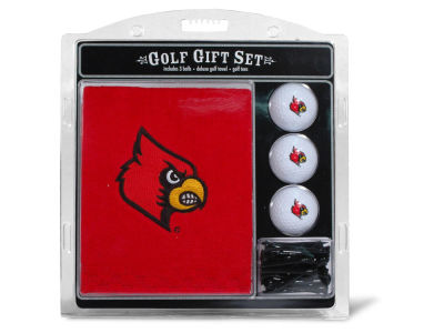 Louisville Cardinals Team Golf Golf Towel, 3 Golf Ball, and Golf Tee Set