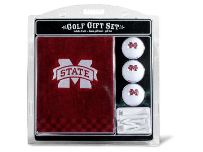 Mississippi State Bulldogs Team Golf Golf Towel, 3 Golf Ball, and Golf Tee Set