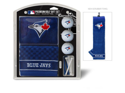 Toronto Blue Jays Team Golf Golf Towel, 3 Golf Ball, and Golf Tee Set