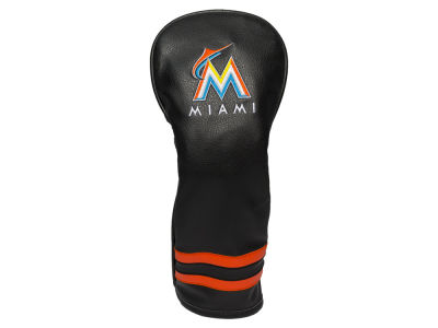 Miami Marlins Team Golf Vintage Fairway Head Cover