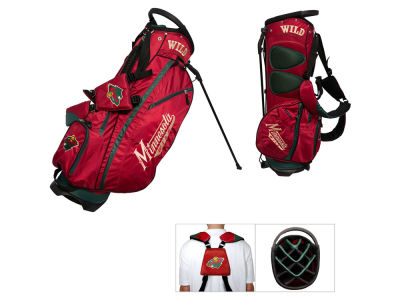 Minnesota Wild Team Golf Fairway Golf Stand Bag