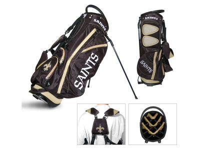 New Orleans Saints Team Golf Fairway Golf Stand Bag