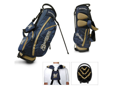 Milwaukee Brewers Team Golf Fairway Golf Stand Bag