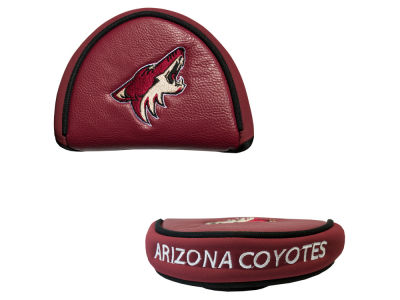 Arizona Coyotes Team Golf Golf Mallet Putter Cover