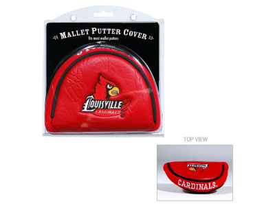 Louisville Cardinals Team Golf Golf Mallet Putter Cover