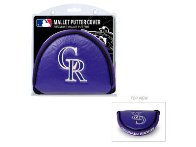 Colorado Rockies Team Golf Golf Mallet Putter Cover