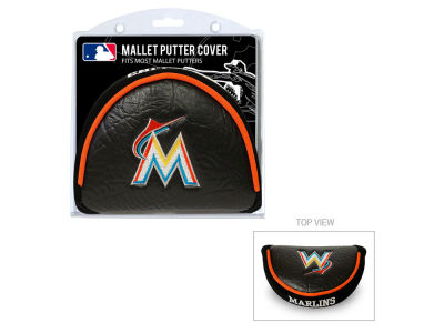 Miami Marlins Team Golf Golf Mallet Putter Cover