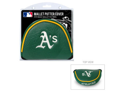 Oakland Athletics Team Golf Golf Mallet Putter Cover