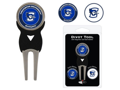 Creighton Blue Jays Team Golf Divot Tool Pack With 3 Golf Ball Markers