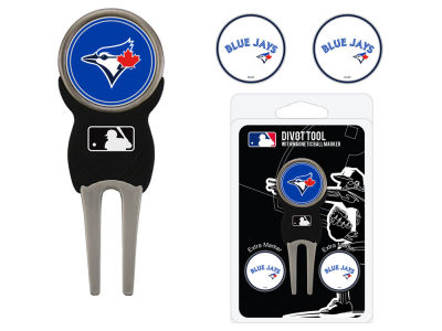 Toronto Blue Jays Team Golf Divot Tool Pack With 3 Golf Ball Markers