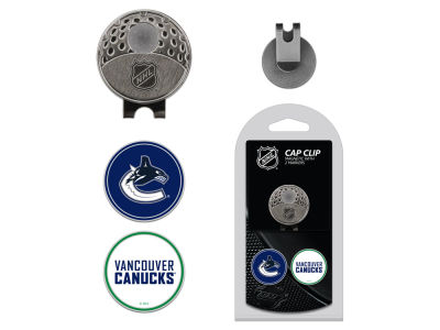 Vancouver Canucks Team Golf Cap Clip With 2 Golf Ball Markers