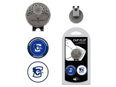 Creighton Blue Jays Team Golf Cap Clip With 2 Golf Ball Markers