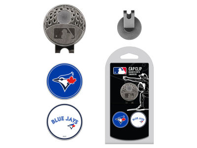 Toronto Blue Jays Team Golf Cap Clip With 2 Golf Ball Markers