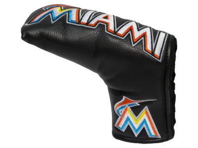 Miami Marlins Team Golf Vintage Blade Putter Cover