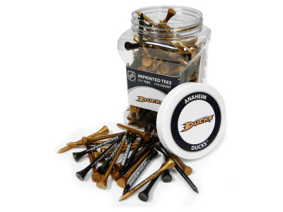 Anaheim Ducks Team Golf Jar Of 175 Golf Tees