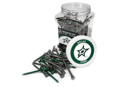 Dallas Stars Team Golf Jar Of 175 Golf Tees