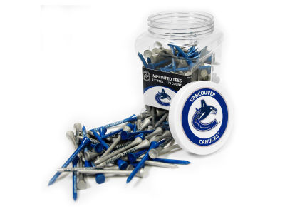 Vancouver Canucks Team Golf Jar Of 175 Golf Tees