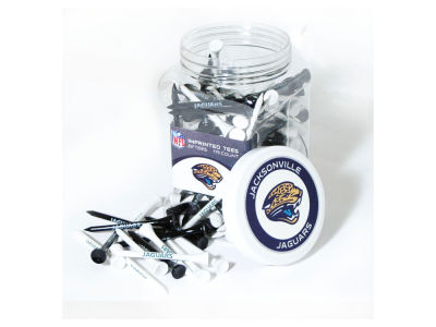 Jacksonville Jaguars Team Golf Jar Of 175 Golf Tees