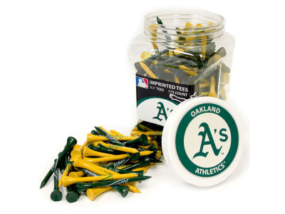 Oakland Athletics Team Golf Jar Of 175 Golf Tees